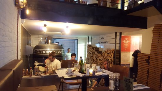 Photo of Italian Restaurant SOTTO Pizza at Roelof Hartstraat 27, Amsterdam 1071 VG, Netherlands