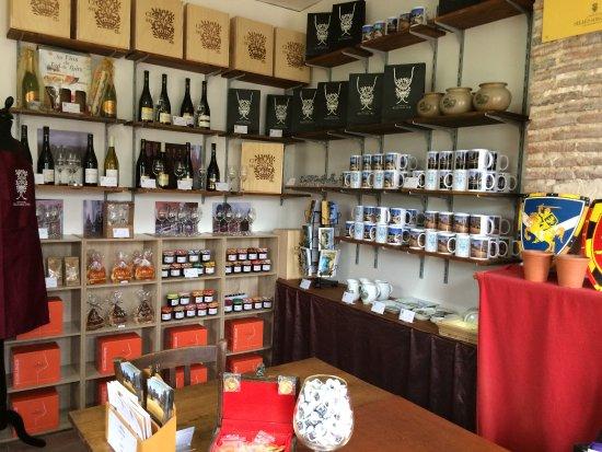 Selles-sur-Cher, Francia: La boutique du château de Selles sur Cher