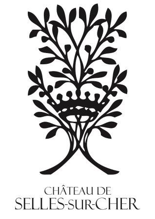 Selles-sur-Cher, Francia: L'élégant logo du château de Selles sur Cher XVIIe siècle