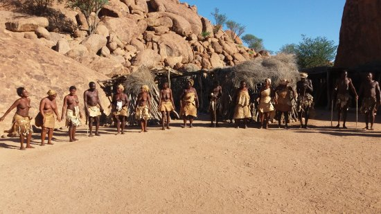 Dance of Damara people