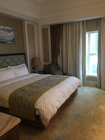 Shanwei, China: big comfortable bed