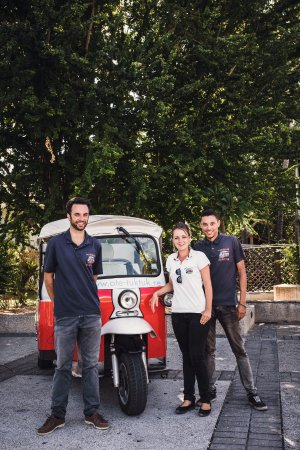 Saint-Gilles-Les-Bains, Reunion Island: La dream team Oté Tuktuk !
