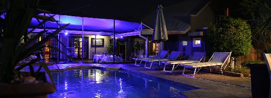Vergelegen Restaurant: Pool area
