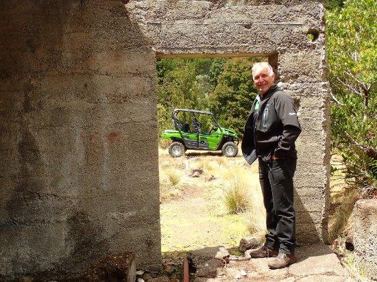 Waratah, Australia: Our tourguide Paul Ledger. Our friendly tourguide.