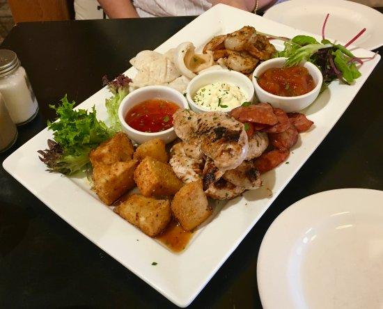 Willunga, Avustralya: tapas Platter.