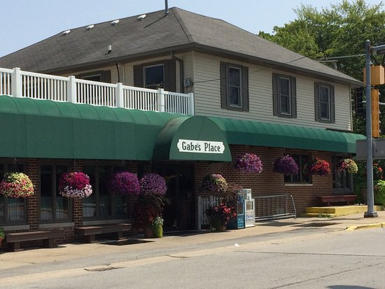 Glenwood, IL: Stop by to see our lovely flower baskets every Spring & Summer