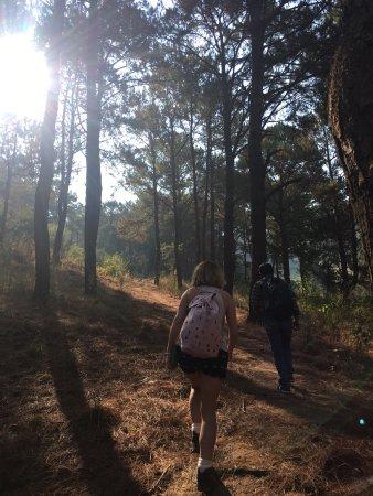 Kalaw, Birmania: Start of our trek
