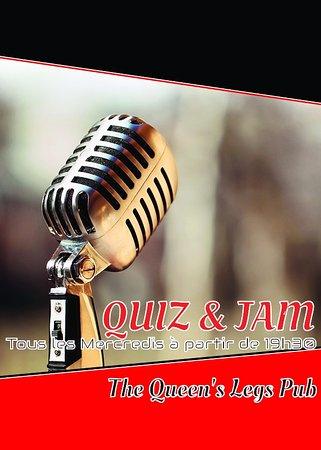 Valbonne, Frankrig: Quiz & Jam TOUS LES MERCREDIS !