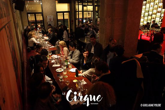 Restaurant Le Cirque Rue Saint Martin