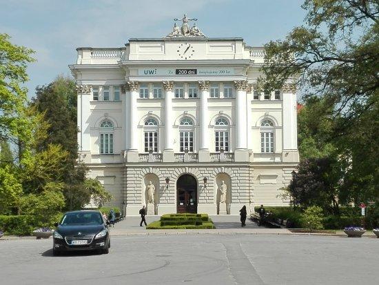 University of Warsaw (Uniwersytet Warszawski) : Gmach Uniwersytetu Warszawskiego