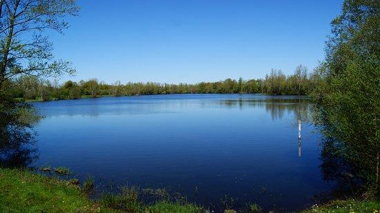 Montlucon, ฝรั่งเศส: Plan d'eau de la Vauvre (crédit photo : Guillaume Le Roux)