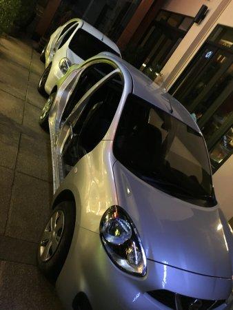 "Aonang Cliff Beach Resort: Doorless 4WD ""buggy"""