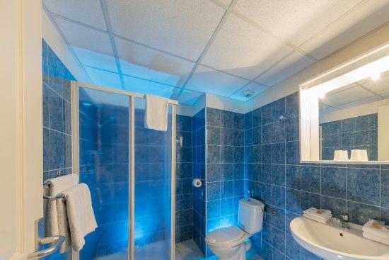 Hotel Le Grand Cap : Salle de douche