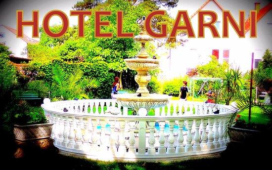Hotel Garni Rodenbach: Garten