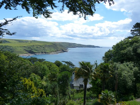 Salcombe, UK: View from the gardens