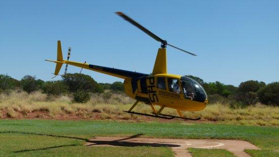 คิงส์แคนยอน, ออสเตรเลีย: Helicopter Flight.