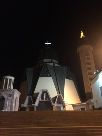 Il Santuario di sera