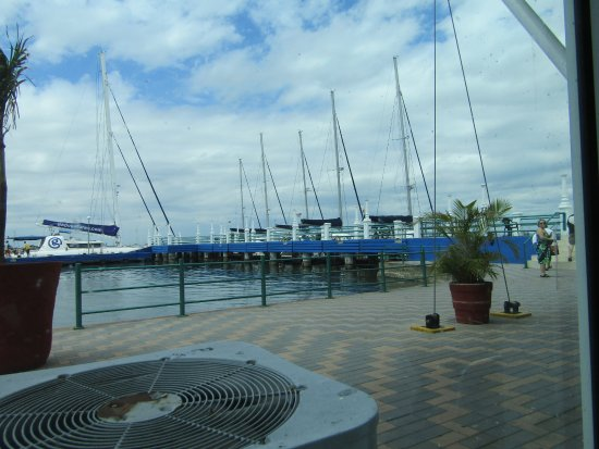 Club Cienfuegos: View from the restaurant