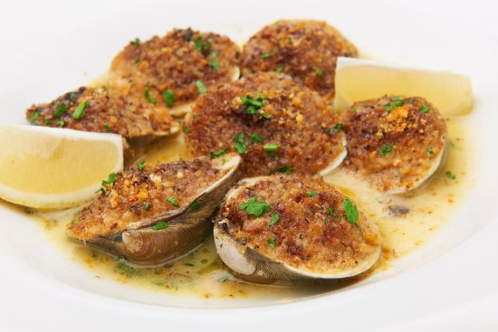 Olive Lucy's Kitchen Table: Clams Oreganata