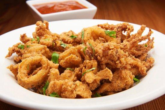 Olive Lucy's Kitchen Table: Crispy Calamari Marinara