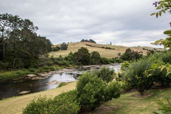 View from The Studio veranda at Appledore Lodge