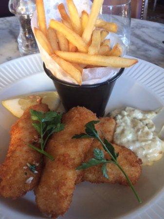 Cote Brasserie - Reading: Cod goujons....yummy