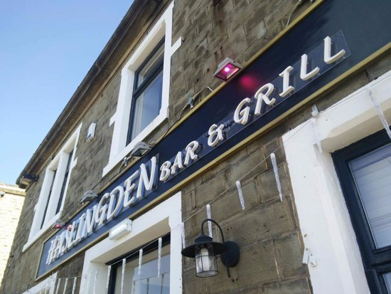 Front view of Haslingden Bar and Grill