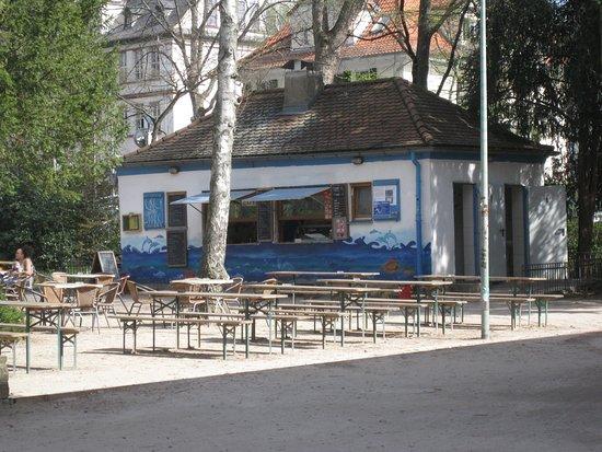 Günthersburgpark - Café