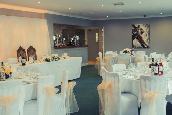Brompton, UK: Wilford Suite set for Wedding Reception