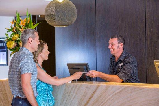 RACV Noosa Resort: Reception