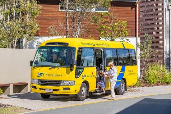 RACV Noosa Resort: Resort Bus runs hourly