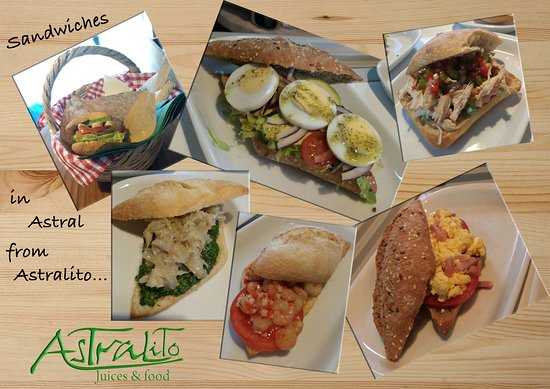 Puerto Banus, Spanien: Sandwiches, small snacks, croquetas,
