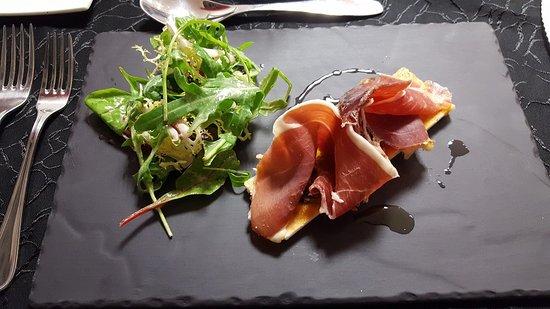 Cabestany, Frankrike: Serrano (entrée du menu)