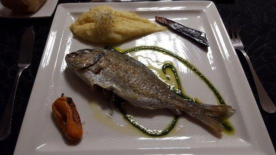 Cabestany, Francia: Dorade (plat du jour)