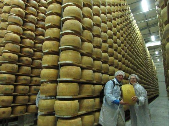 Italian Days Food Experience: Parmigiano Reggiano Factory