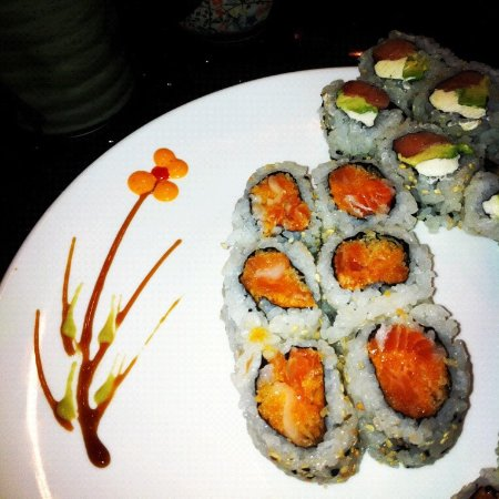 Sushi comparable to anywhere.