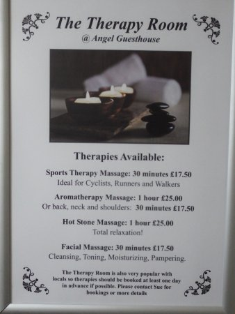 Angel Guest House : We also have a Therapy Room