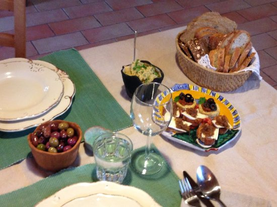 Camporgiano, Italy: Antipasto