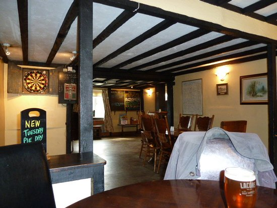 Melton Constable, UK: the dog end of the bar