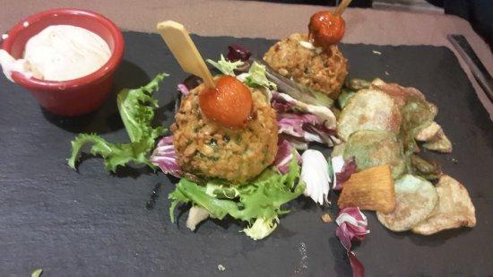 Taberna De Nino: polpette di pesce