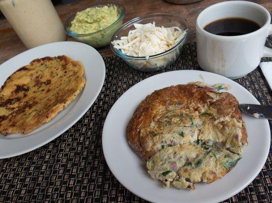 Sapzurro, Colombia: desayuno