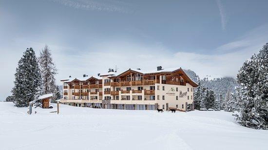 Hotel Steger-Dellai in the winter time