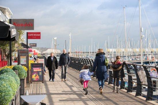 Brighton Marina: The Boardwalk