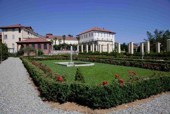 Biella, İtalya: Giardino all'italiana