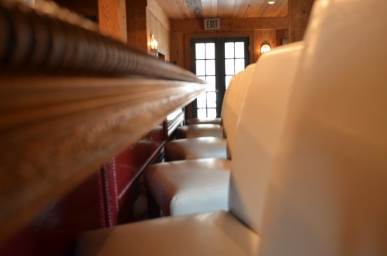 Hot Springs, VA: Beautiful bar seats await you in the Lounge