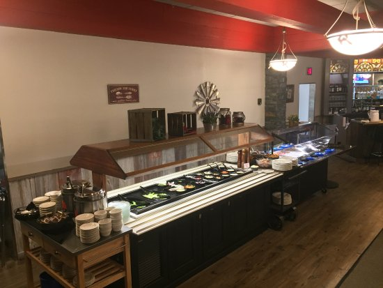 Wisconsin Rapids, WI: Salad bar and buffet