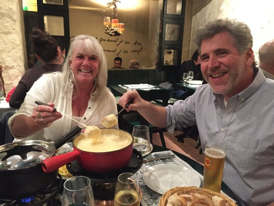 incredible cheese fondue! (to add to review by Karen Clarkson)