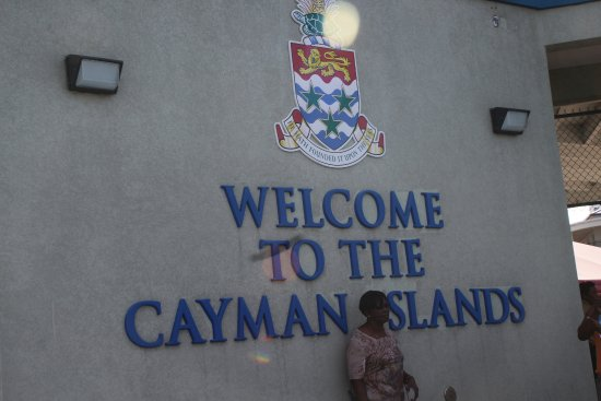 George Town, Grand Cayman: Arrival in Port Welcome