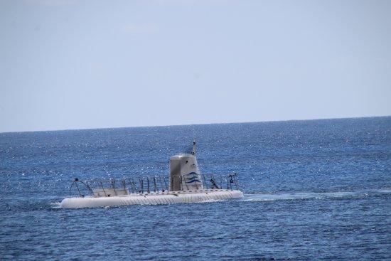 George Town, Grand Cayman: The Submarine trip
