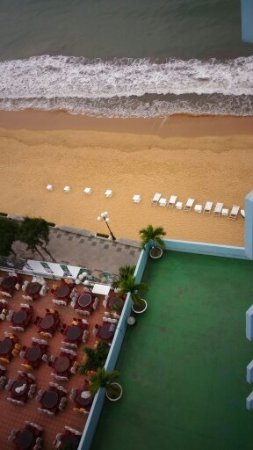 Quy Nhon, Wietnam: look out from balcony